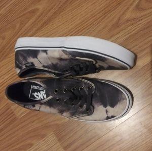 Vans marble look alike shoes